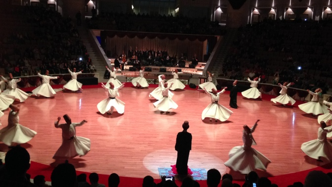 The whirls of Konya