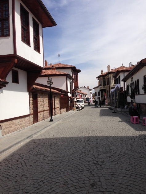 Ottoman neighbourhood, a typical sight in any Turkish city under Ottoman influence