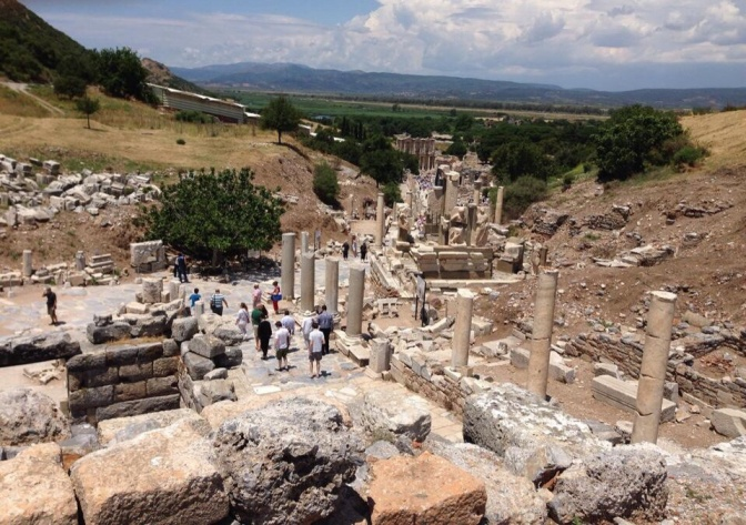 Exploring Ephesian history