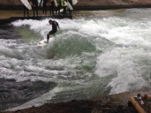 Surfing in Munich