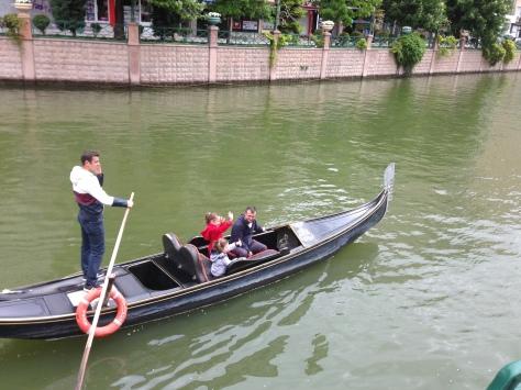 Fancy a gondola ride?