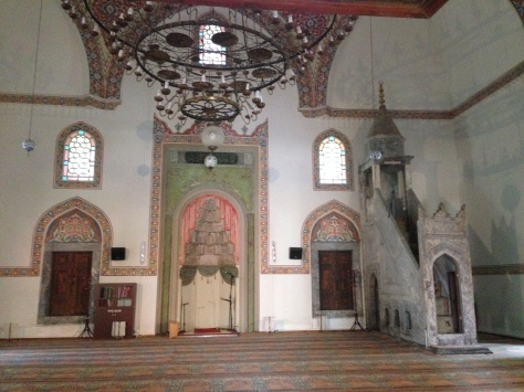 Inside of the mosque