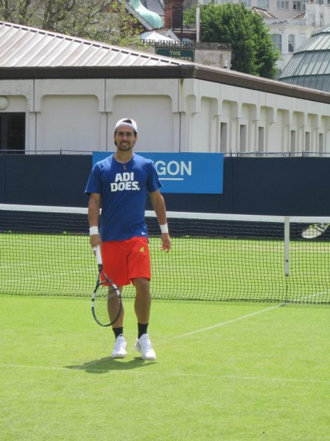 I don't know about Adi but Fabio Fognini definitely does.