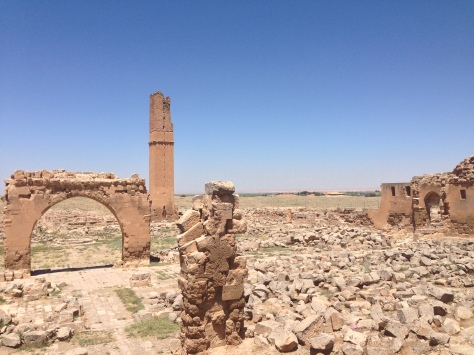 The Grand Mosque of Harran (in bits and pieces) - the oldest mosque in Anatolia