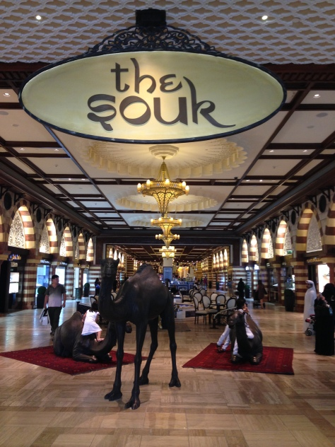 The souq for the rich. Go figure.