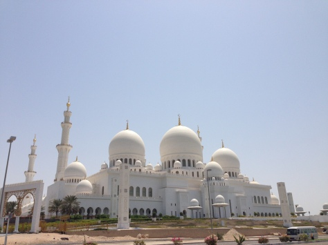 The Mosque, from outside