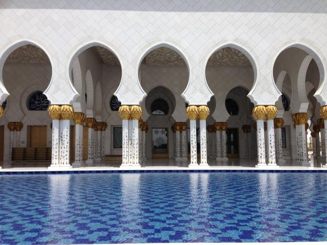 In Awe: The Sheik Zayed Mosque