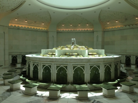 The ablution corner - a real Chamber of Secrets?