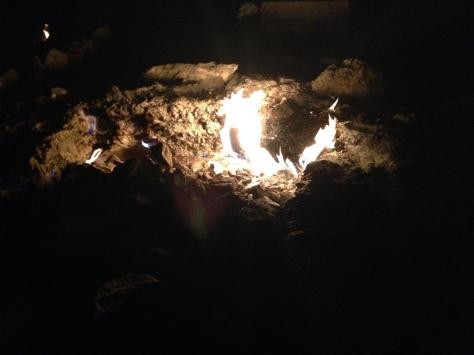 Never ending burning...