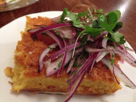 The most amazing corn cake in the world