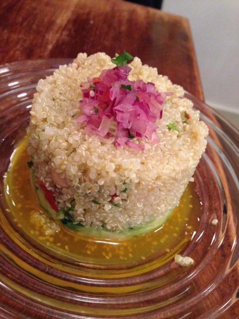 Quinoa Salad, with a small Peruvian twist