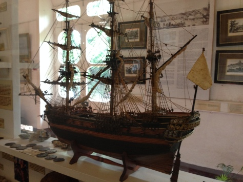 One of the many ships that went past Mahebourg during the colonial times.