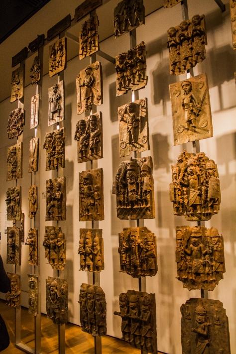 Exploring the British Museum. Photo credit: Sam W.