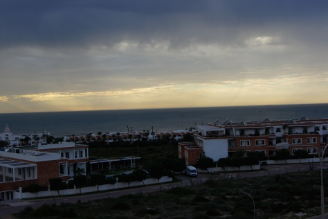 The Agadir skyline.