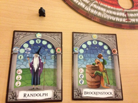 Randolph and Brokenstock, the terrific duo.