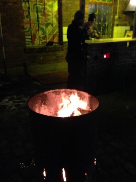Cosy around the fire