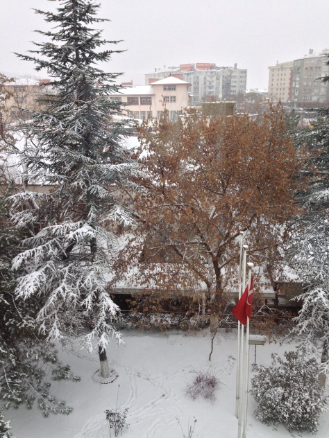 Ankara -outside my window