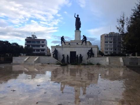 Strolling along 'Greek' Nicosia