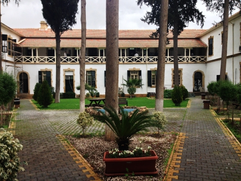 The Courtyard of the Judicial Building