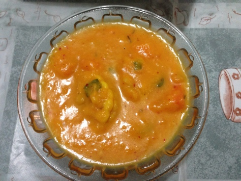 Sunny soup!