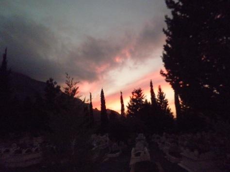 A sucker for sunsets. Photo: Deborah.