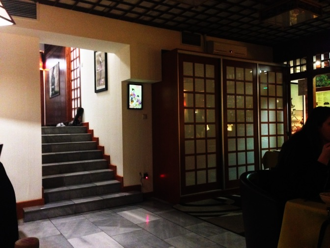 What not to do at a Japanese restaurant in Budapest