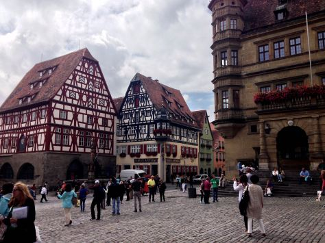 On the Romantic Road: a stop at the fairytale-like town of Rothenburg ob der Tauber