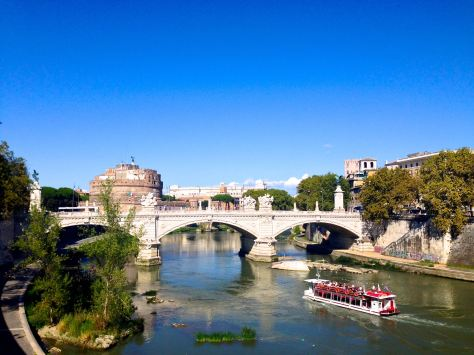 The Ponte Vittorio Emanuele II