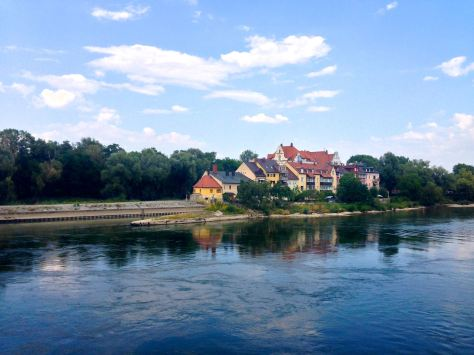 Pretty Regensburg. And also one of the most vegan friendly cities I've come across.