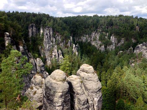 Bastei: rock climbing mecca in Germany