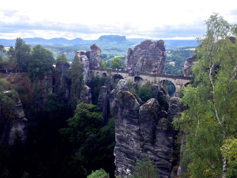 Bastei: bridge with a view