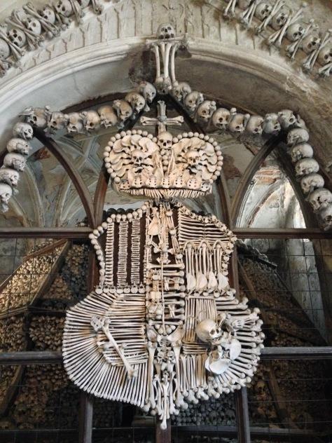 Obligatory trip to the bone church in Kutna Hora!