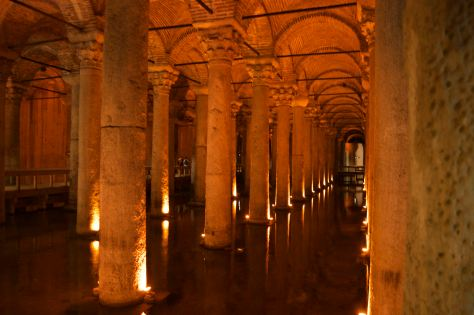 The Underground Palace - the Basilica Cistern
