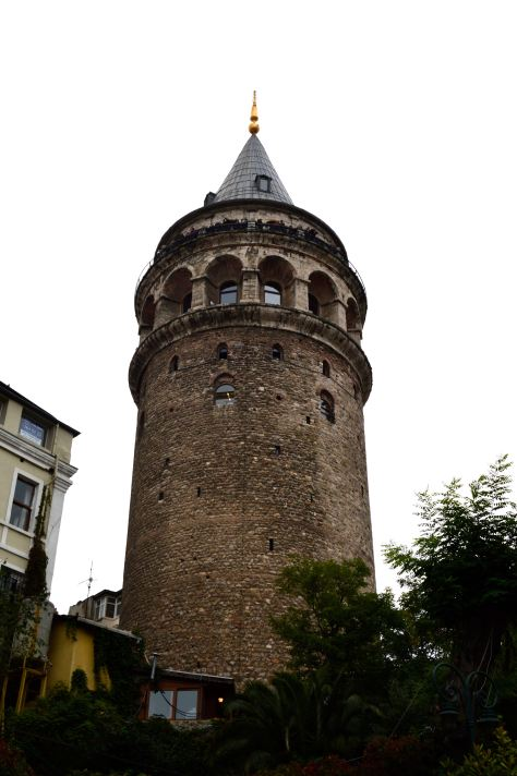 The imposing Galata Tower