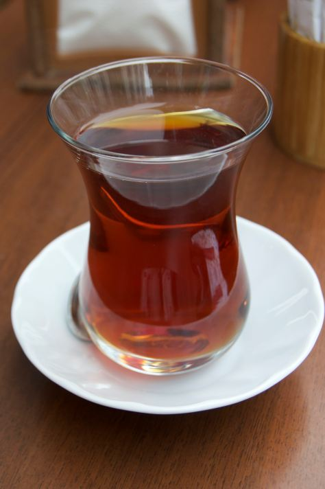 Turkish tea - not the expensive one